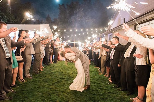 Now THAT is how you wedding!