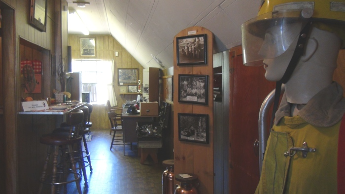 Upstairs in the Firemen's Quarters