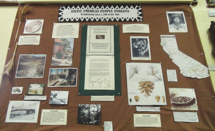 Display on Native American history in the area.
