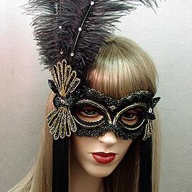 Broadway Masquerade Mask Thumb