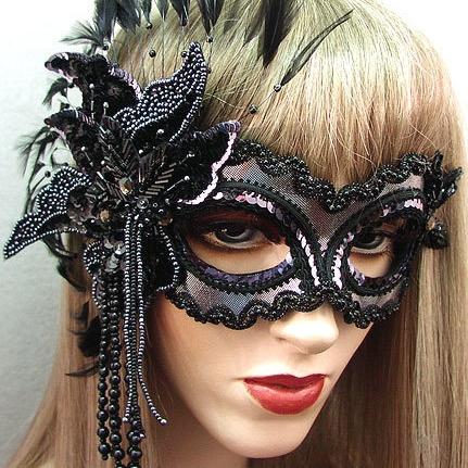 Midnight Masquerade Mask Thumb