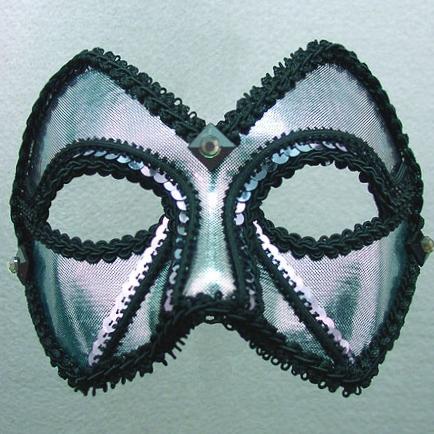 Midnight Companion Masquerade Mask Thumb