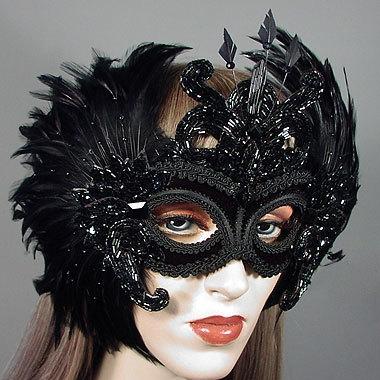Morgana Masquerade Mask Thumb