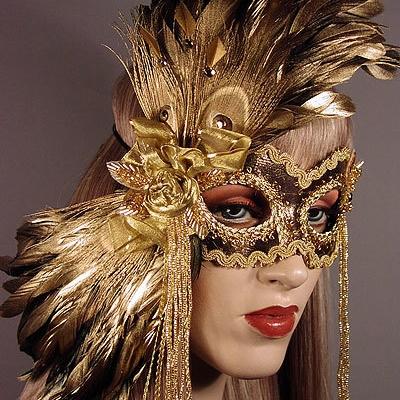 Persephone Masquerade Mask Thumb