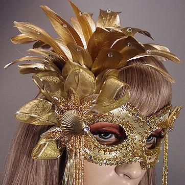 Venus Masquerade Mask Thumb