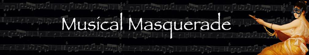 Musical Masquerade Mask Collection Banner