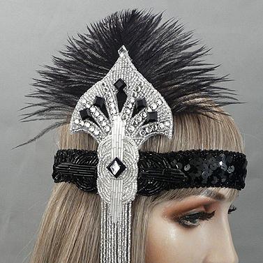 Isadora Gatsby Flapper Headband Thumb