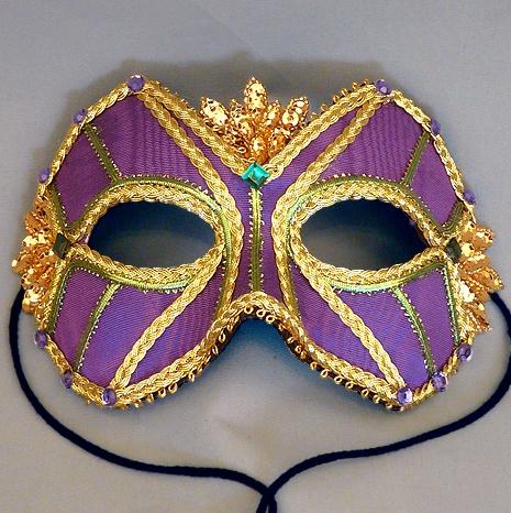 King Mardi Gras Masquerade Mask Thumb