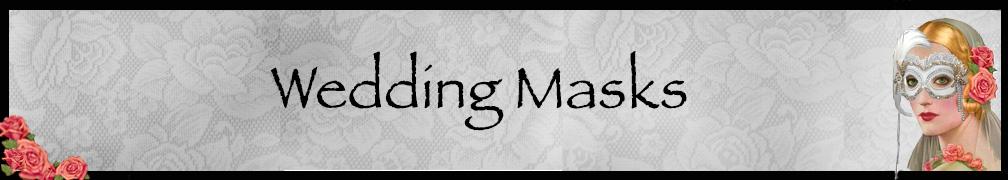 Wedding Masks Masquerade Mask Collection Banner