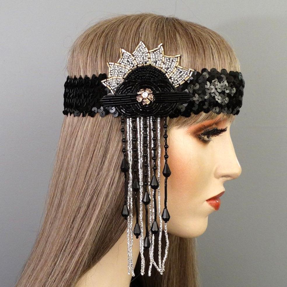 Zara Gatsby Flapper Headband Thumb