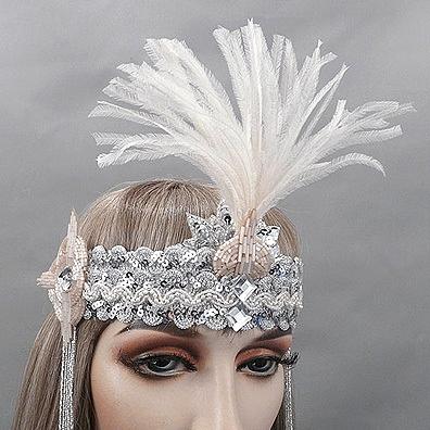 Audrey Gatsby Flapper Headband Thumb