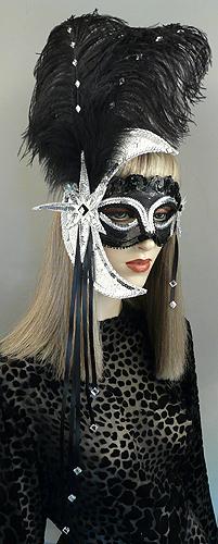 Luna Masquerade Mask