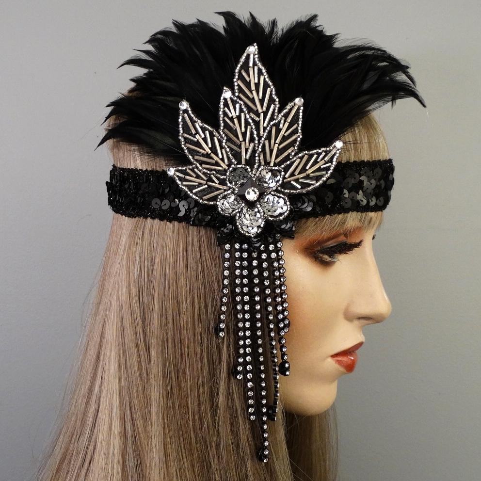 Lexy Gatsby Flapper Headband Thumb