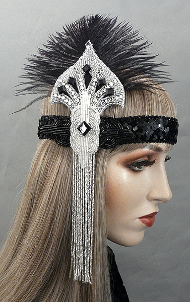 Isadora Gatsby Flapper Headband