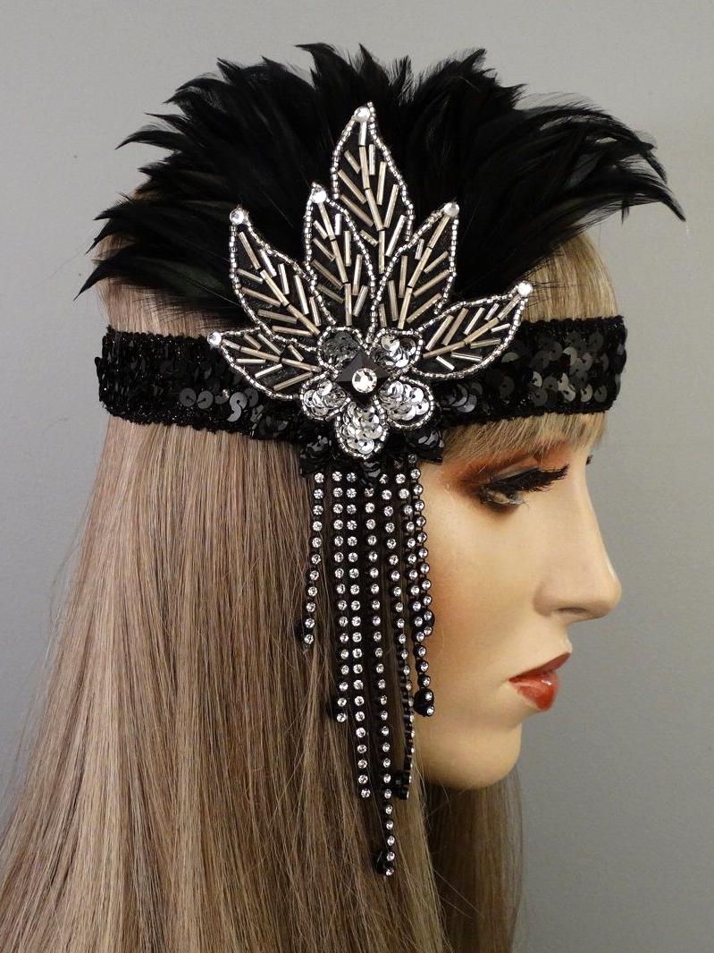 Lexy Gatsby Flapper Headband