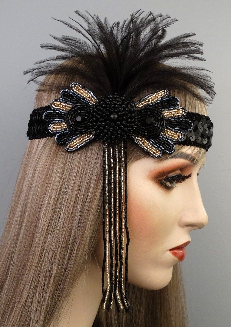 Sasha Gatsby Flapper Headband