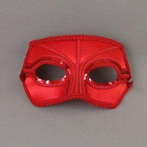 Rose Companion Masquerade Mask Thumb