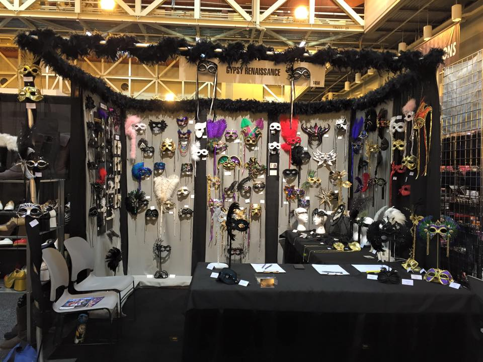 Gypsy Renaissance Booth at 2015 Halloween & Party Expo in New Orleans
