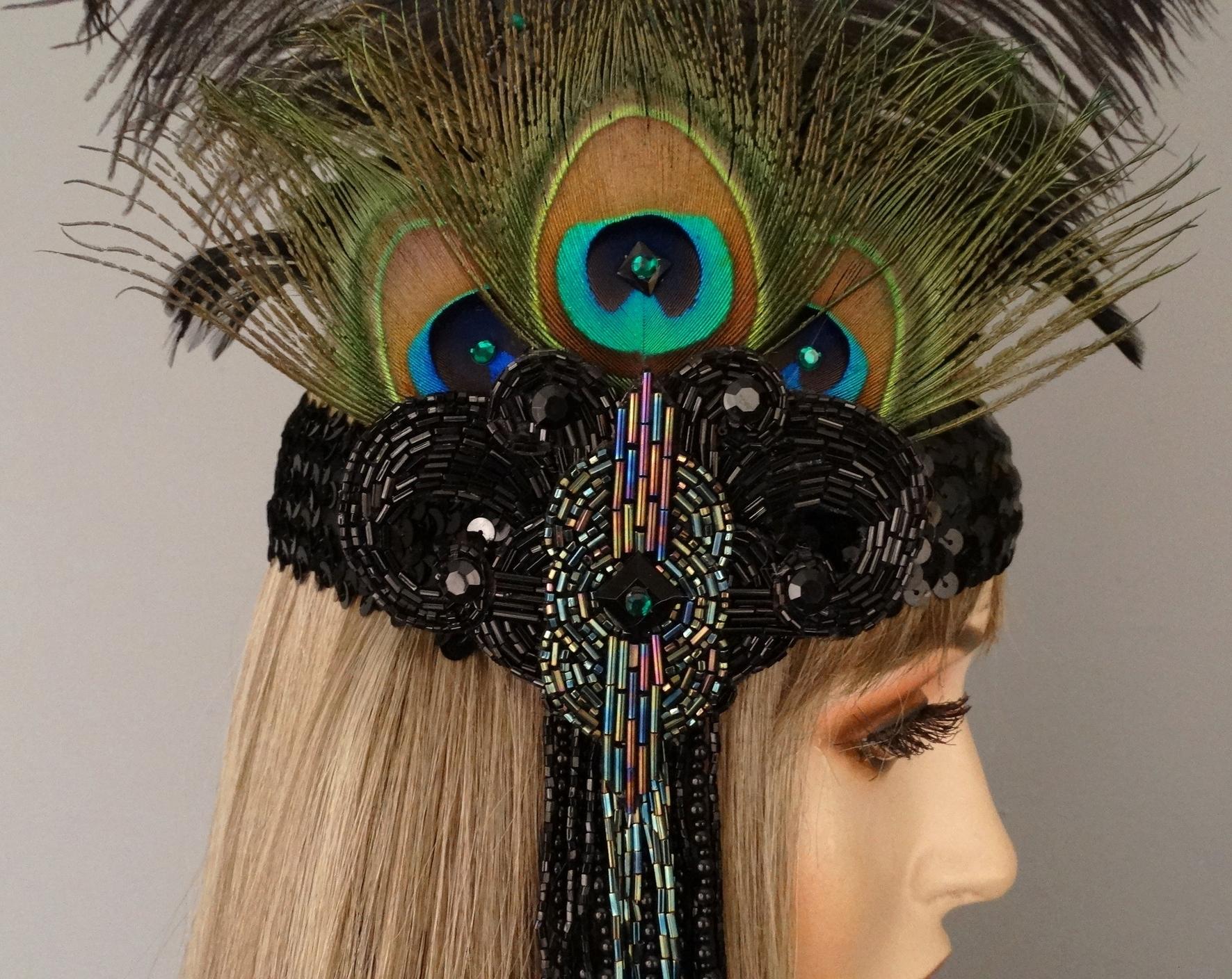 cabaret close detail view headband.JPG