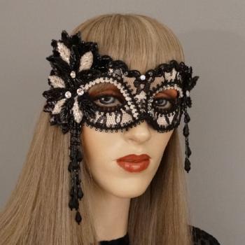 lovelace nuce and black masquerade mask.JPG