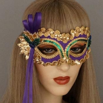 Sweetheart Mardi Gras Masquerade Mask Thumb