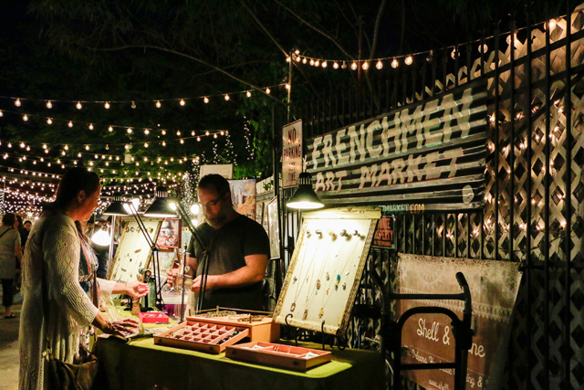 Browse the Frenchmen Art Market for a great variety of work