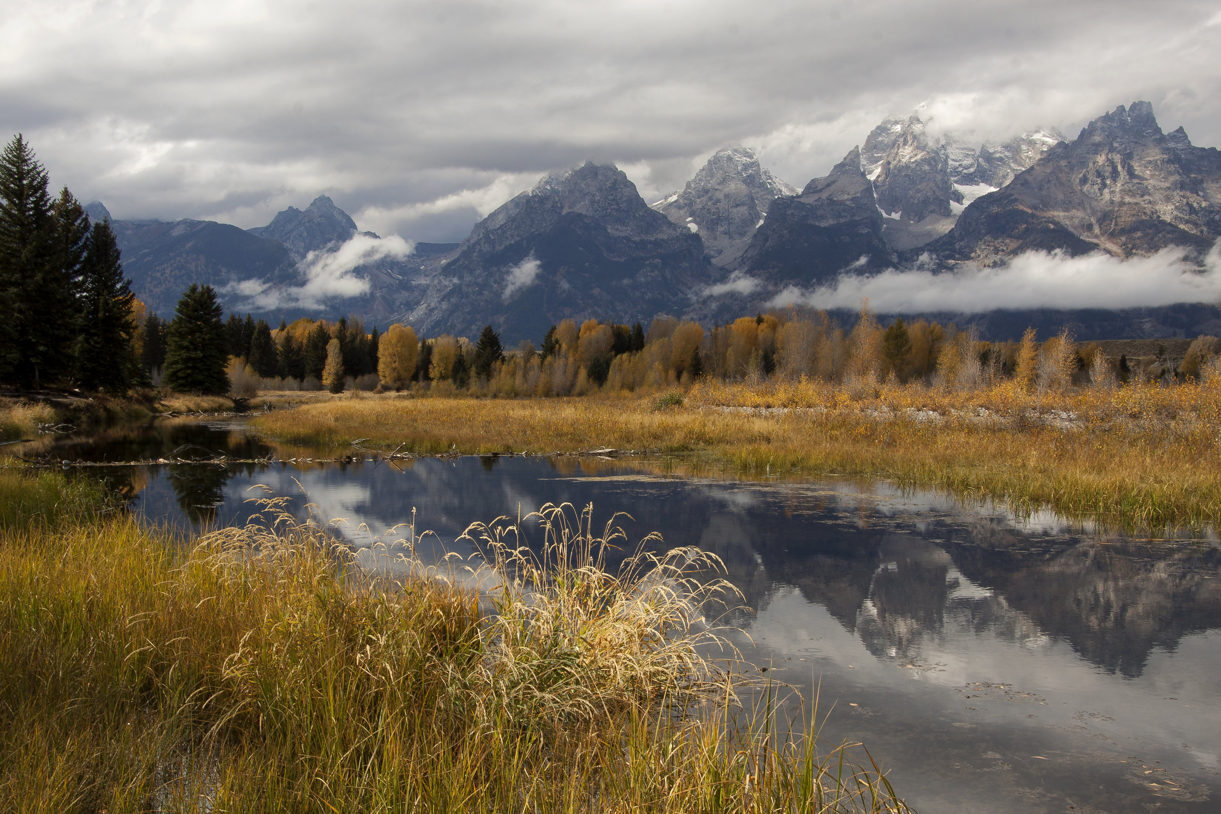 Reflections in the Tetons