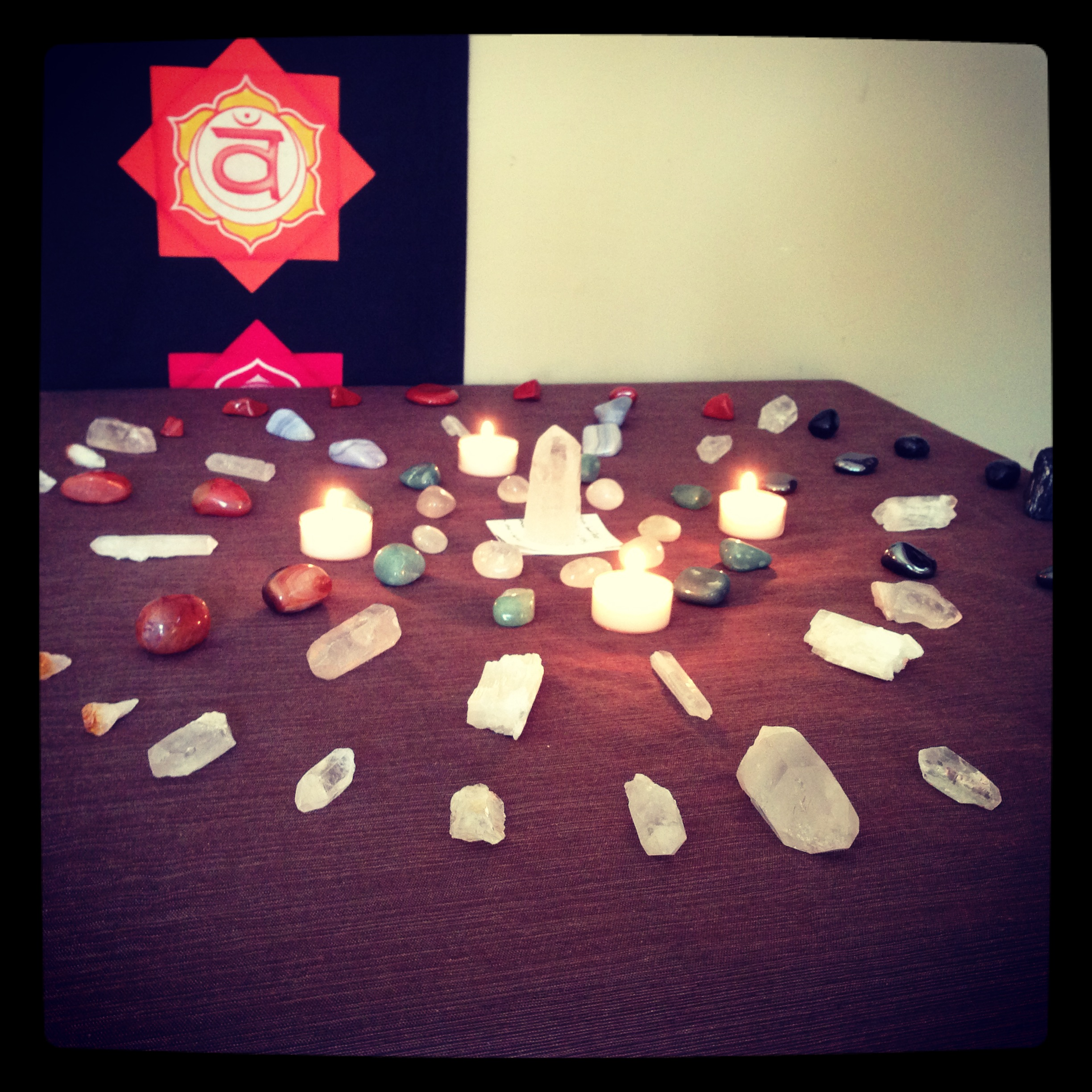 This is a large Medicine Wheel grid I put together for meditation work I was performing for grieving mothers.