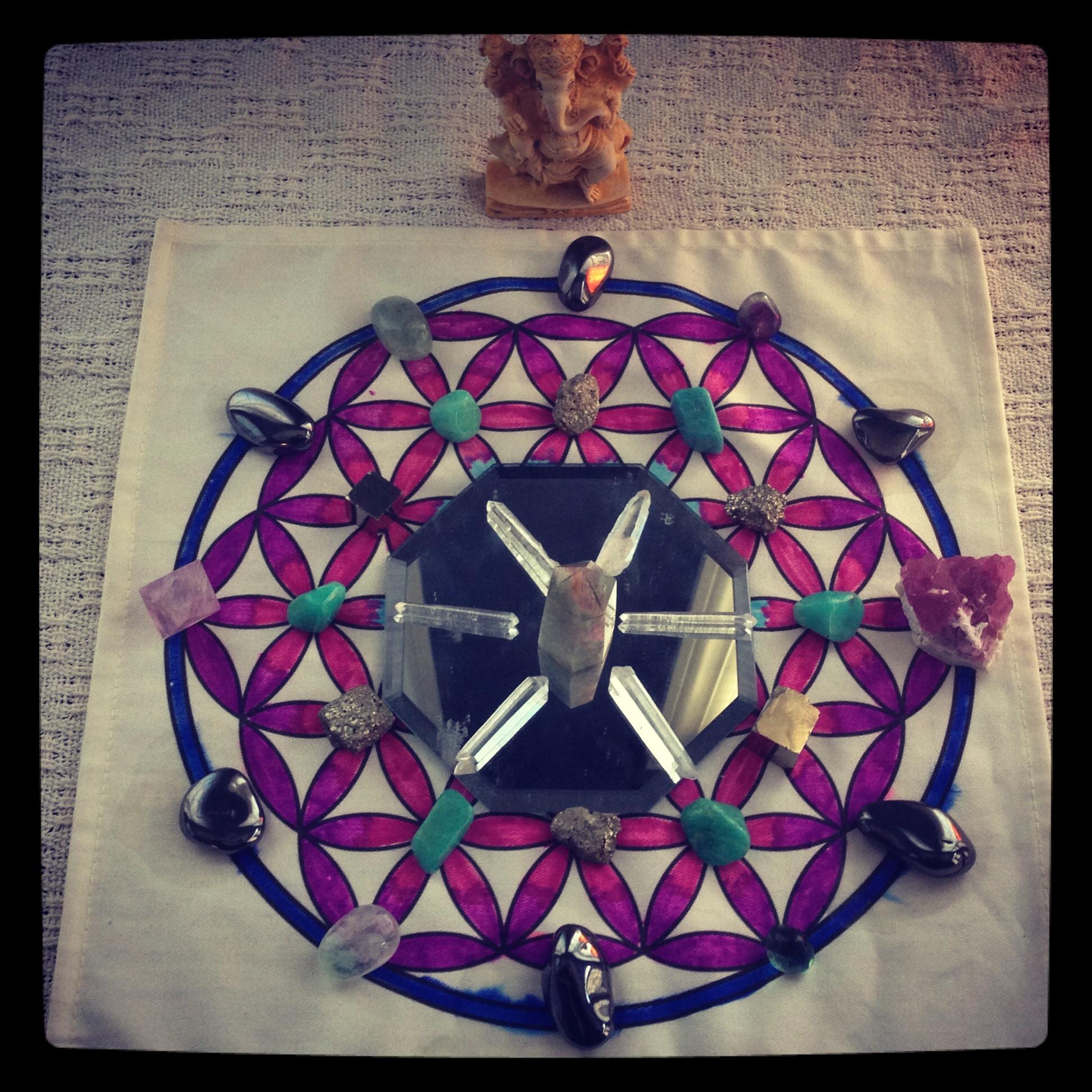 Upper chakra grid
