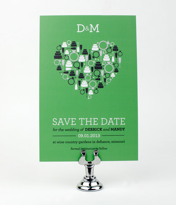 Mandy & Derrick Save the Date