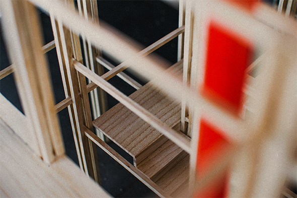 Powerhouse Stair Detail, Megan Blake, 2017.
