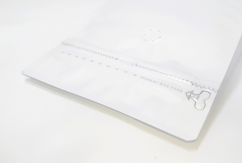 鋁箔夾鏈包裝與單向氣閥