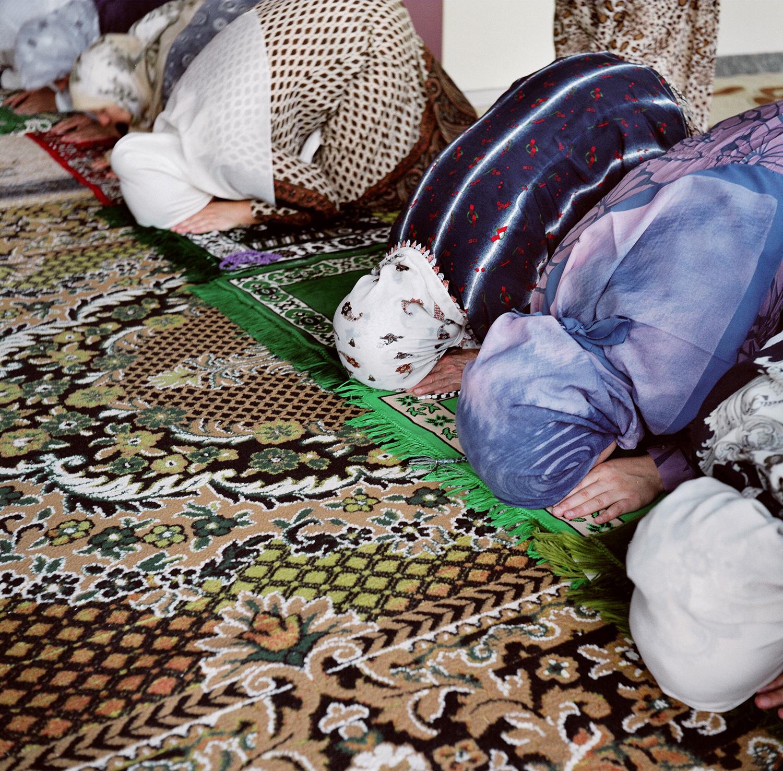 Prayers. Sarajevo, Bosnia and Herzegovina, August 2012.