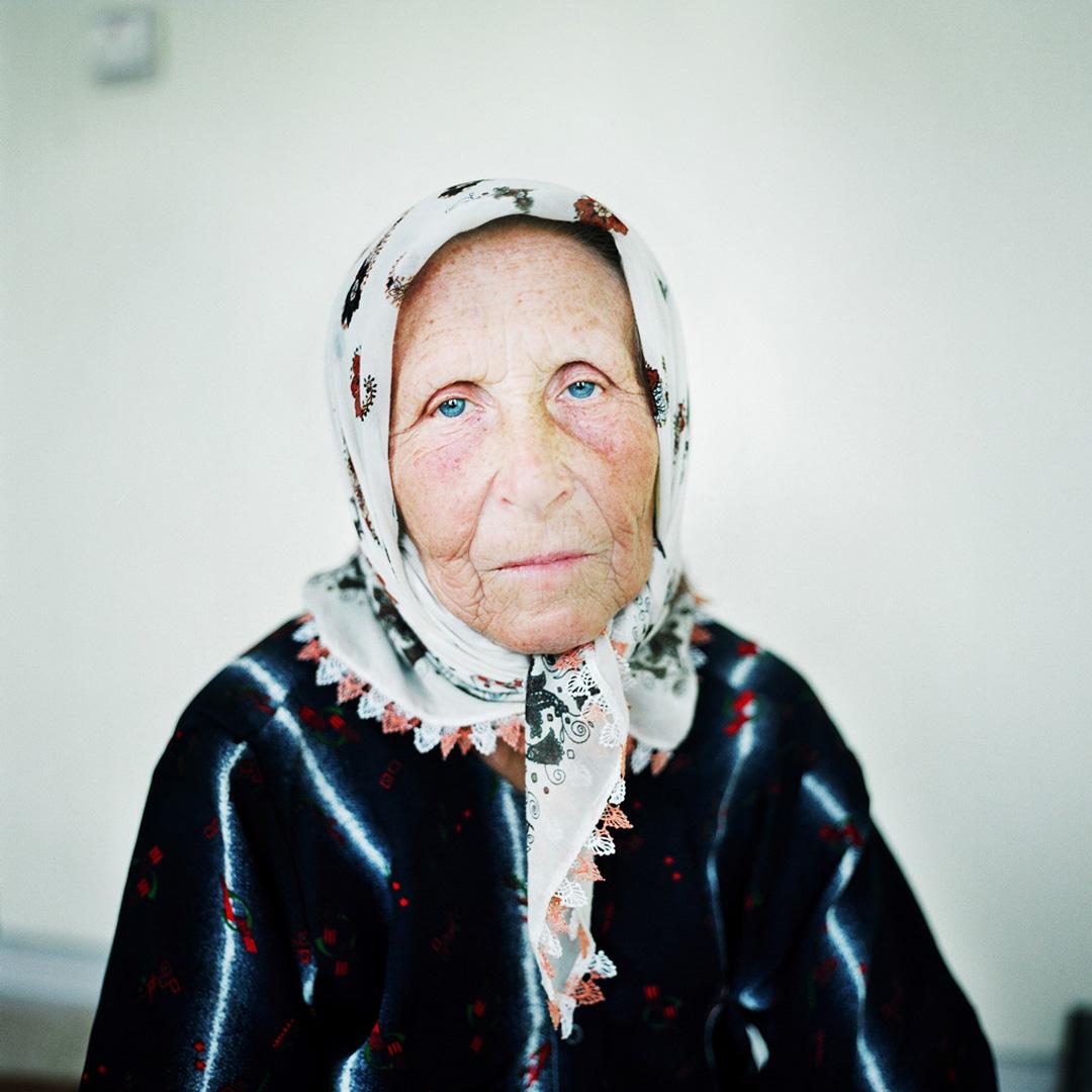 Nura Osmanović. Sarajevo, Bosnia and Herzegovina, August 2012.