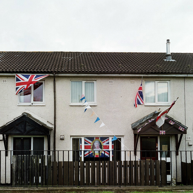 Diamond Jubilee. Belfast, Northern Ireland, August 2012.