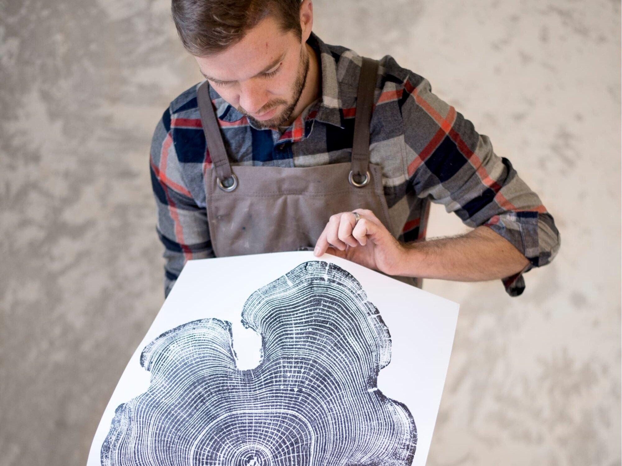 ERIK LINTON - Printmaking