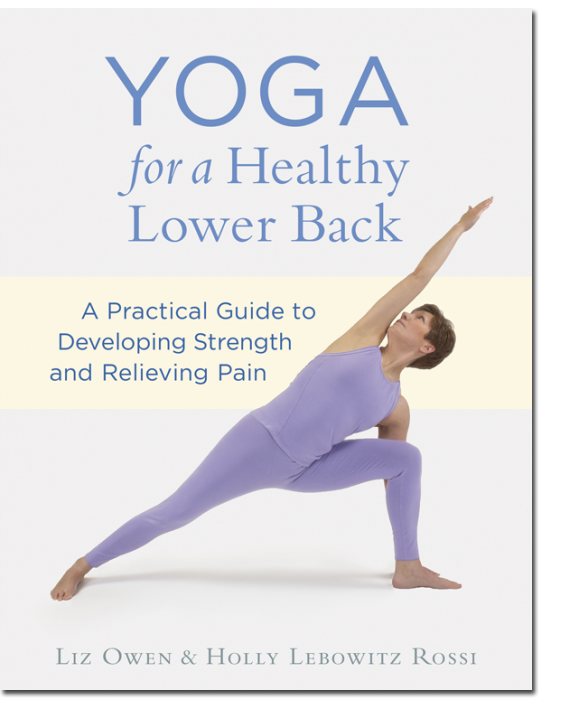 Yoga for a Healthy Lower Back: A Practical Guide to Developing Strength and Relieving Pain (Shambhala Publications, August 2013) - By Liz Owen, Holly Lebowitz Rossi