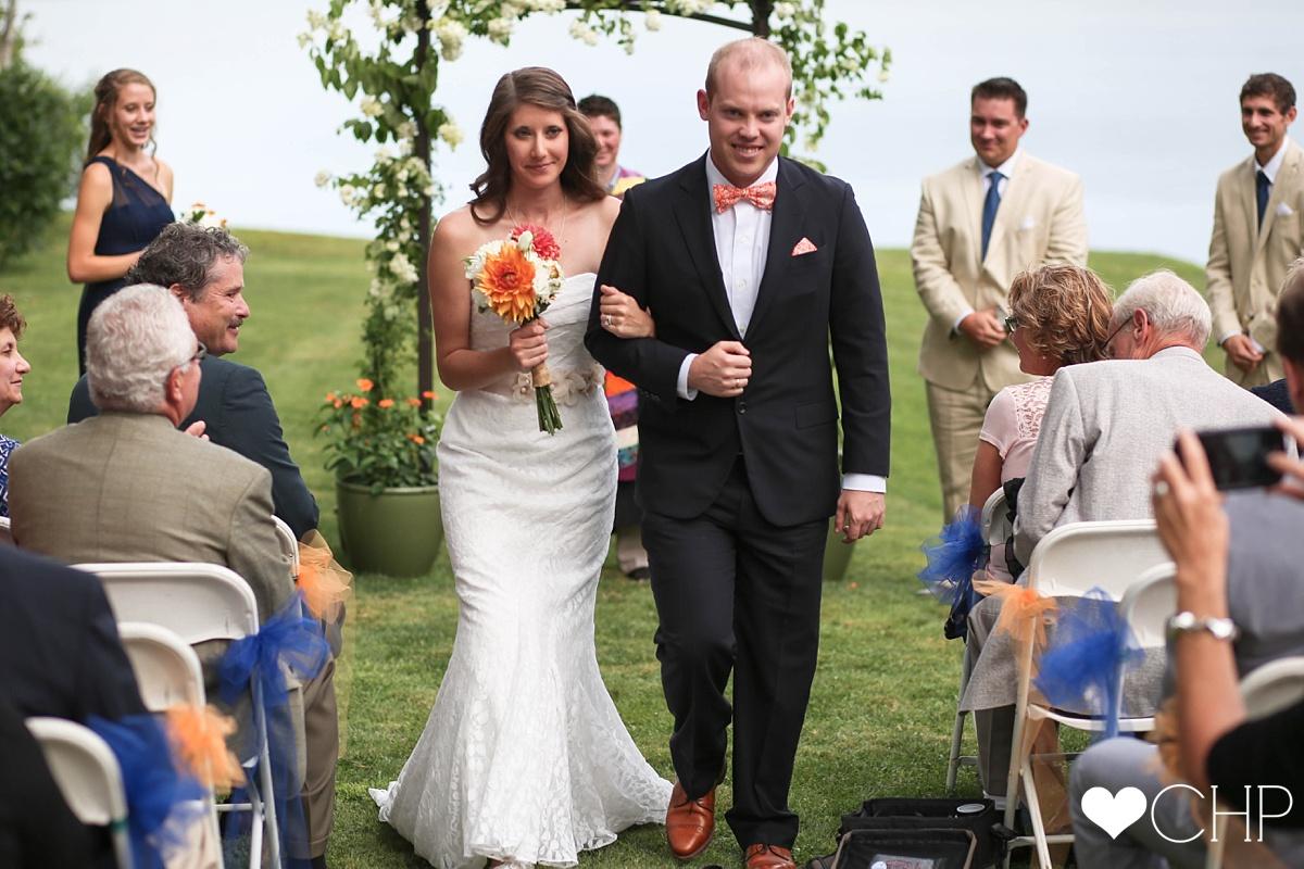 Freeport Maine Wedding Ceremony