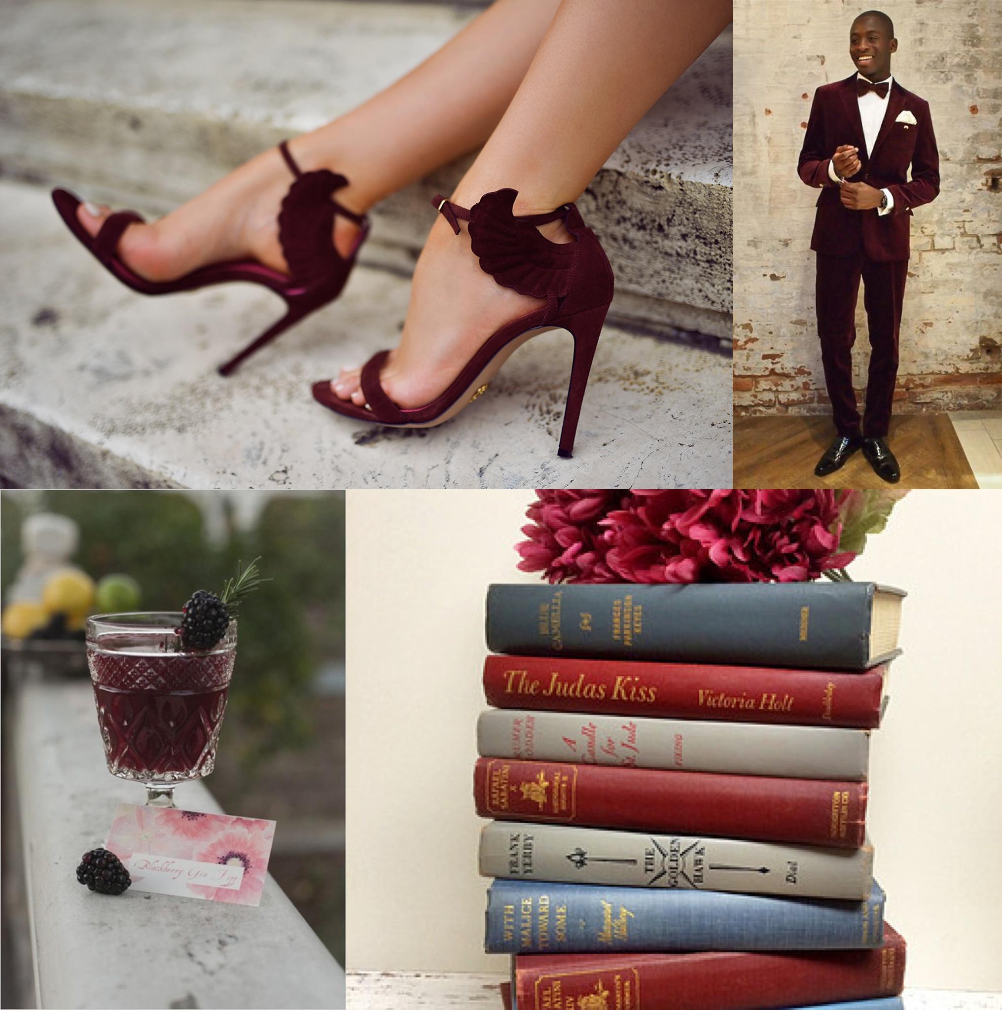 SOURCES:  Shoes ,  Suit ,  Drink ,  Books