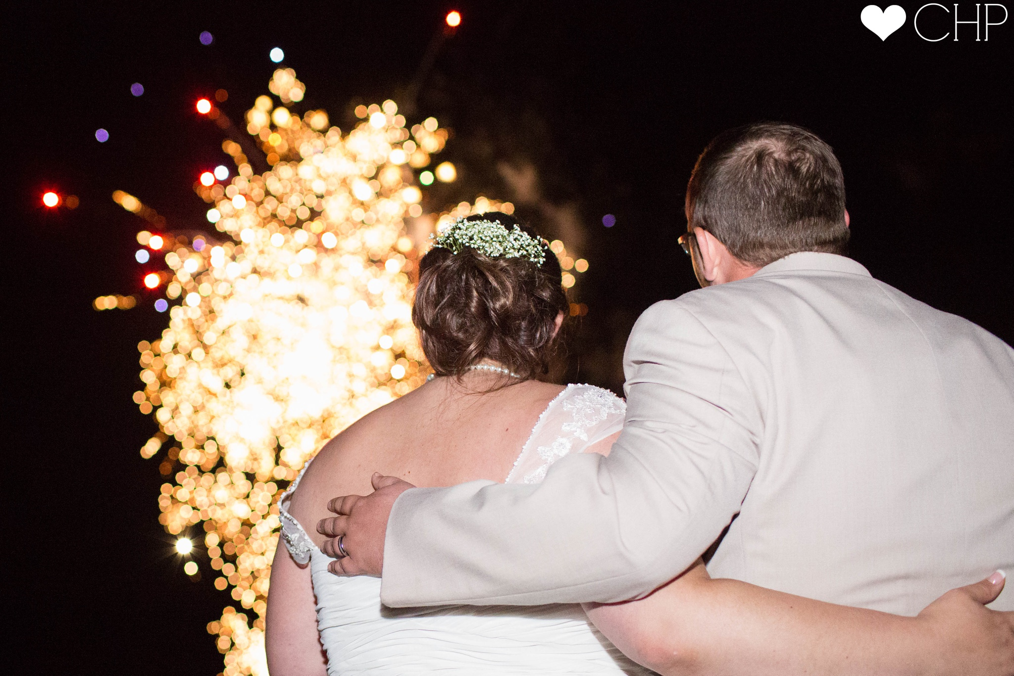 Wedding Fireworks in Maine
