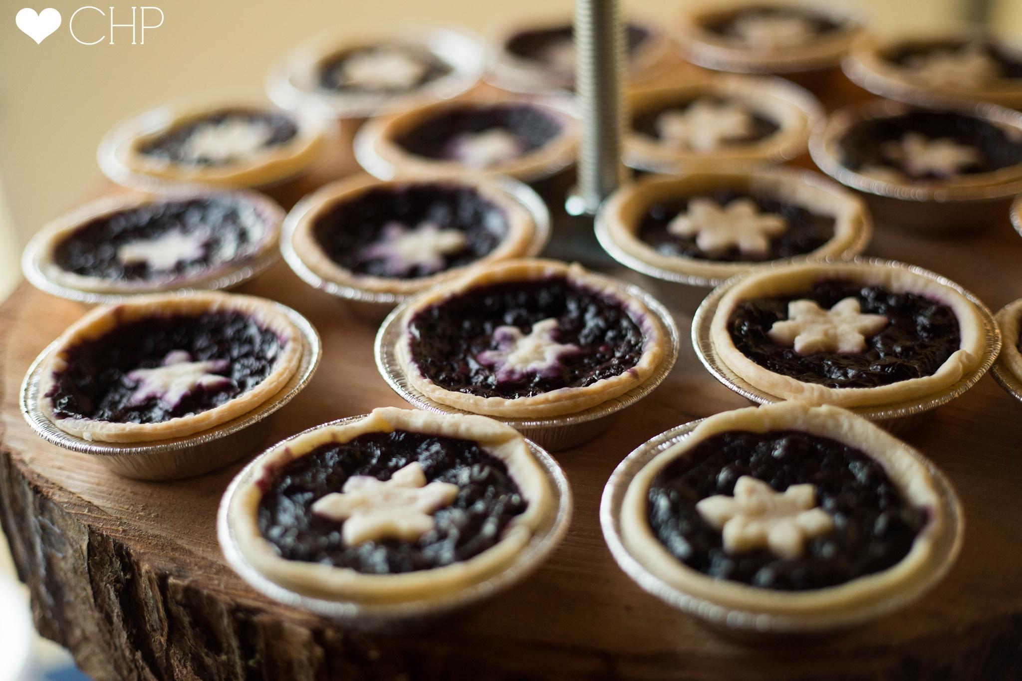 Pies as Wedding Desserts