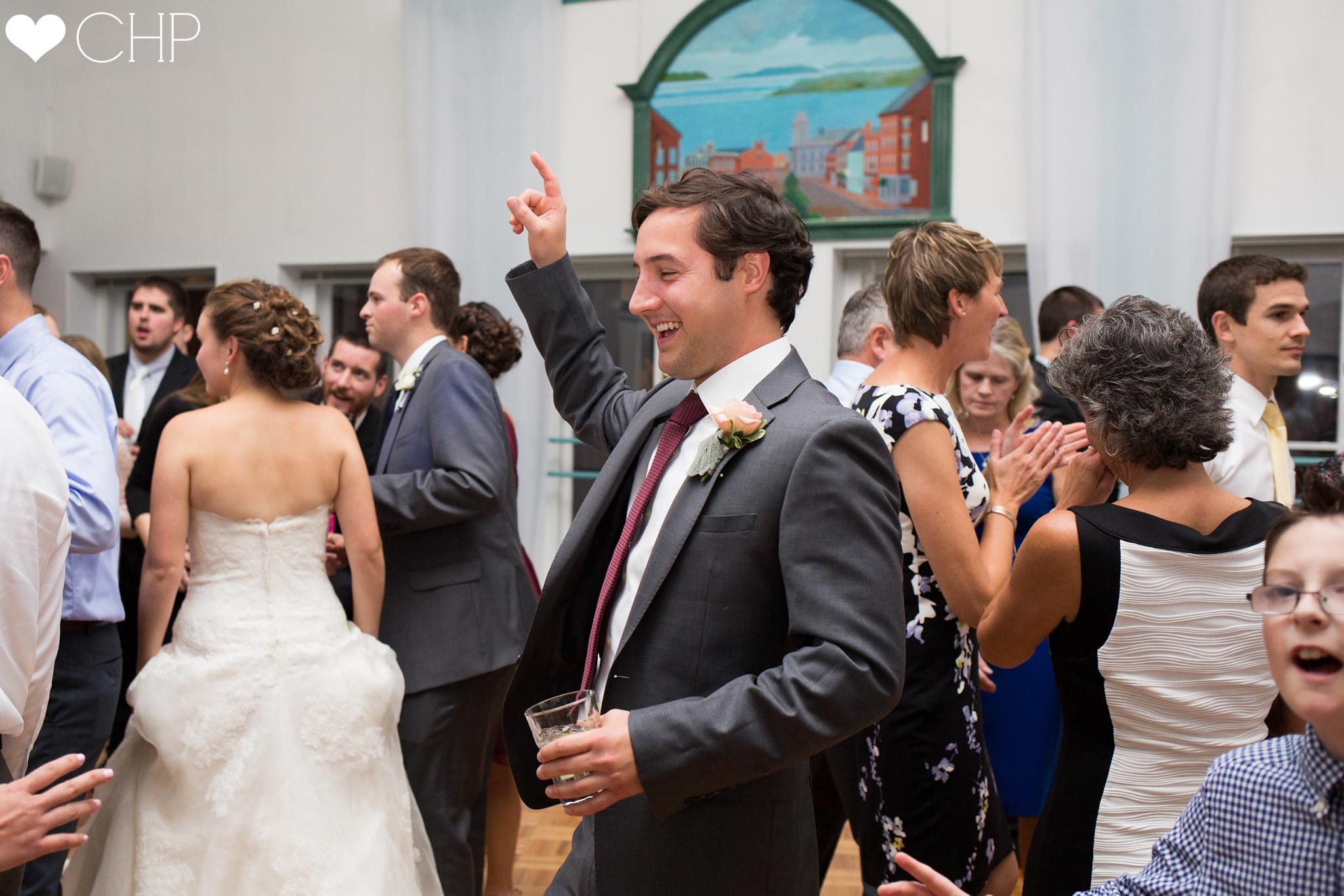 Old Port ME Wedding reception