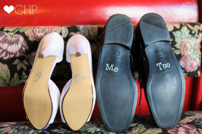 I do on shoes