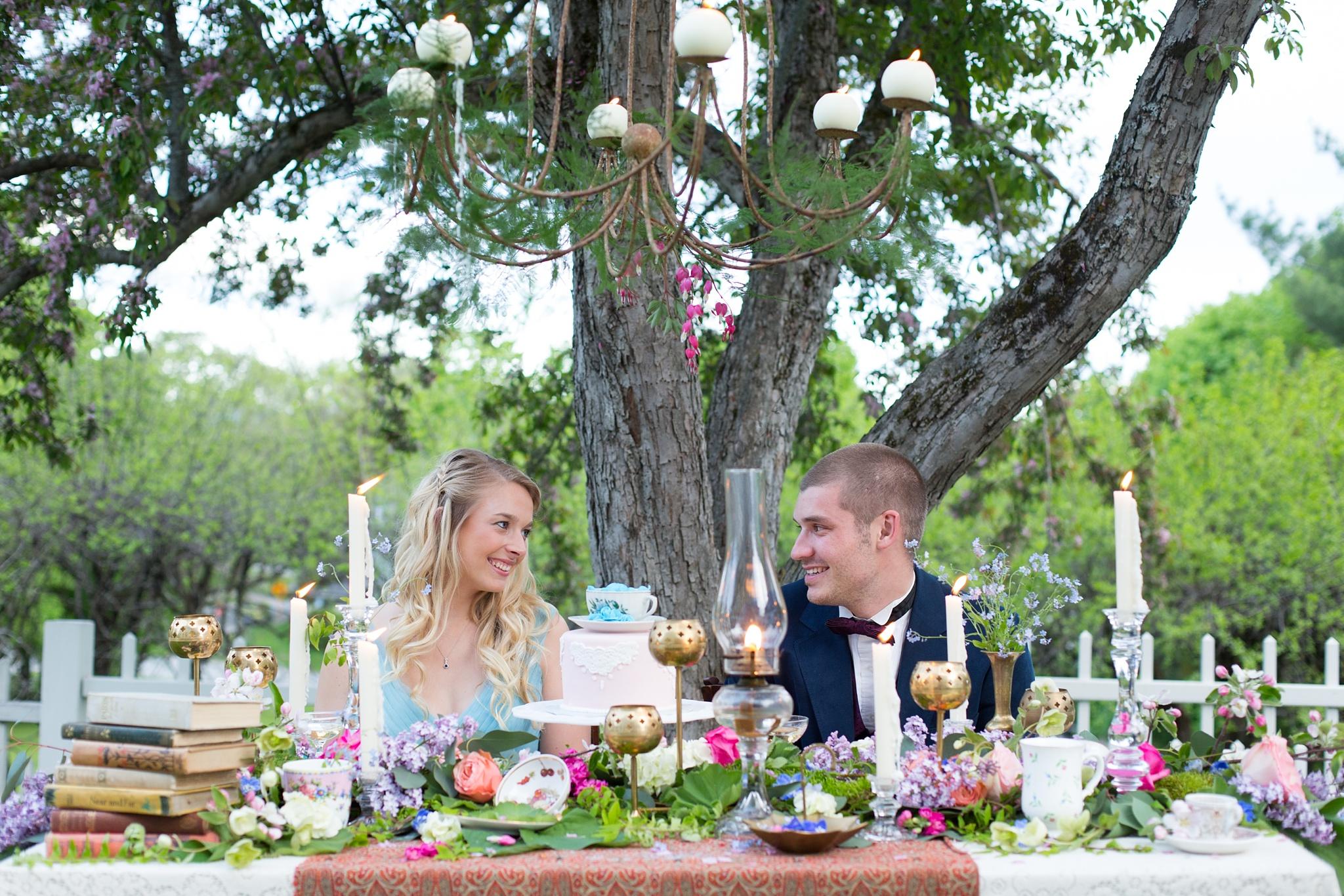 Fairy tale table setting