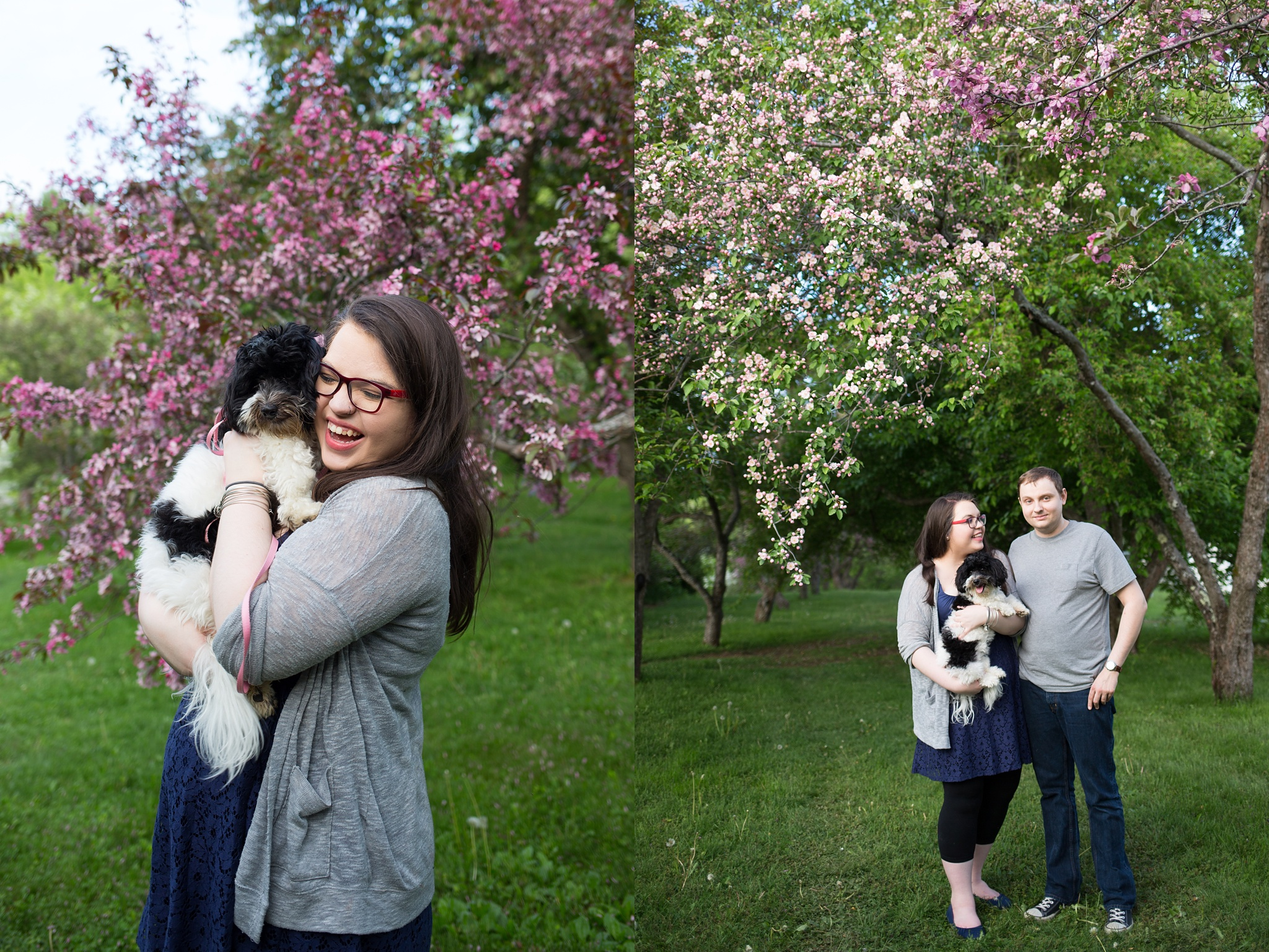 Engagement Pictures with Puppy