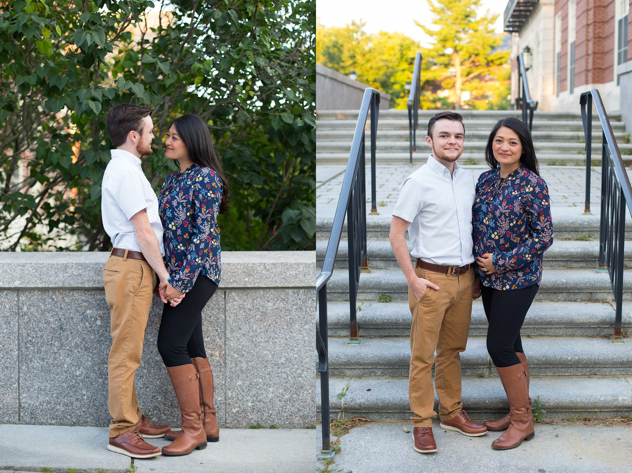 couple at Folger library