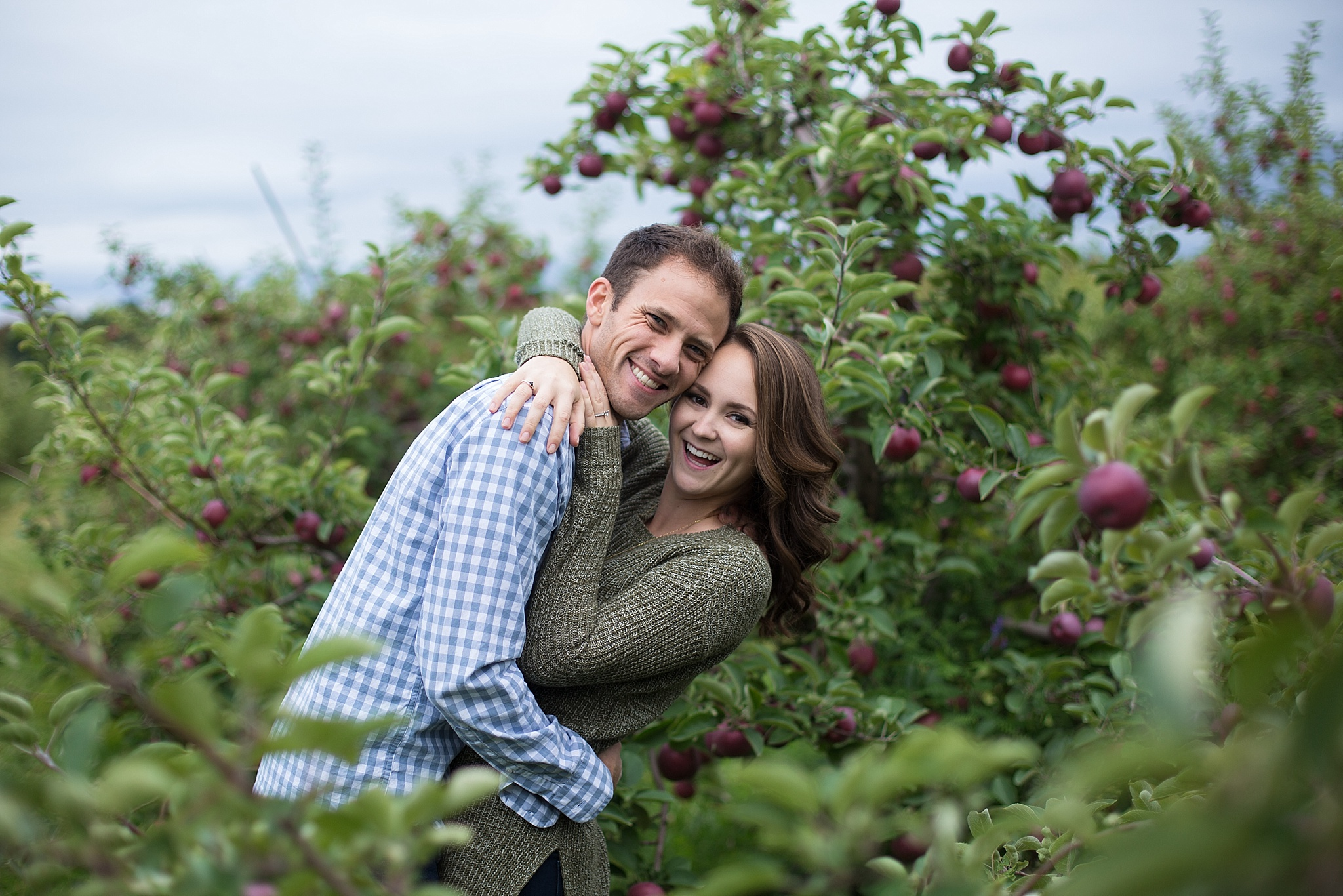 Maine Fall Engagement Session
