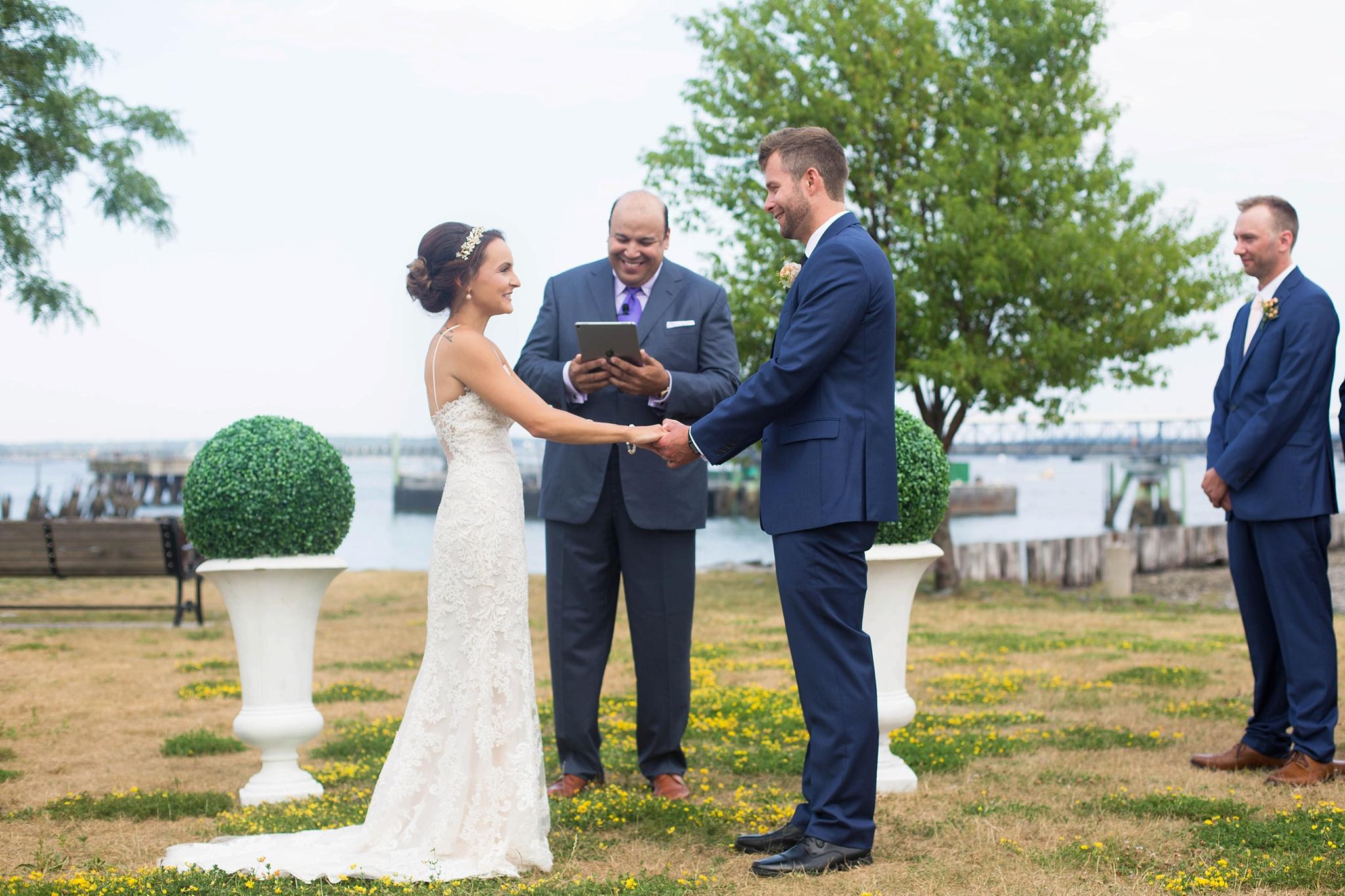 Portland Outdoor Wedding Ceremony