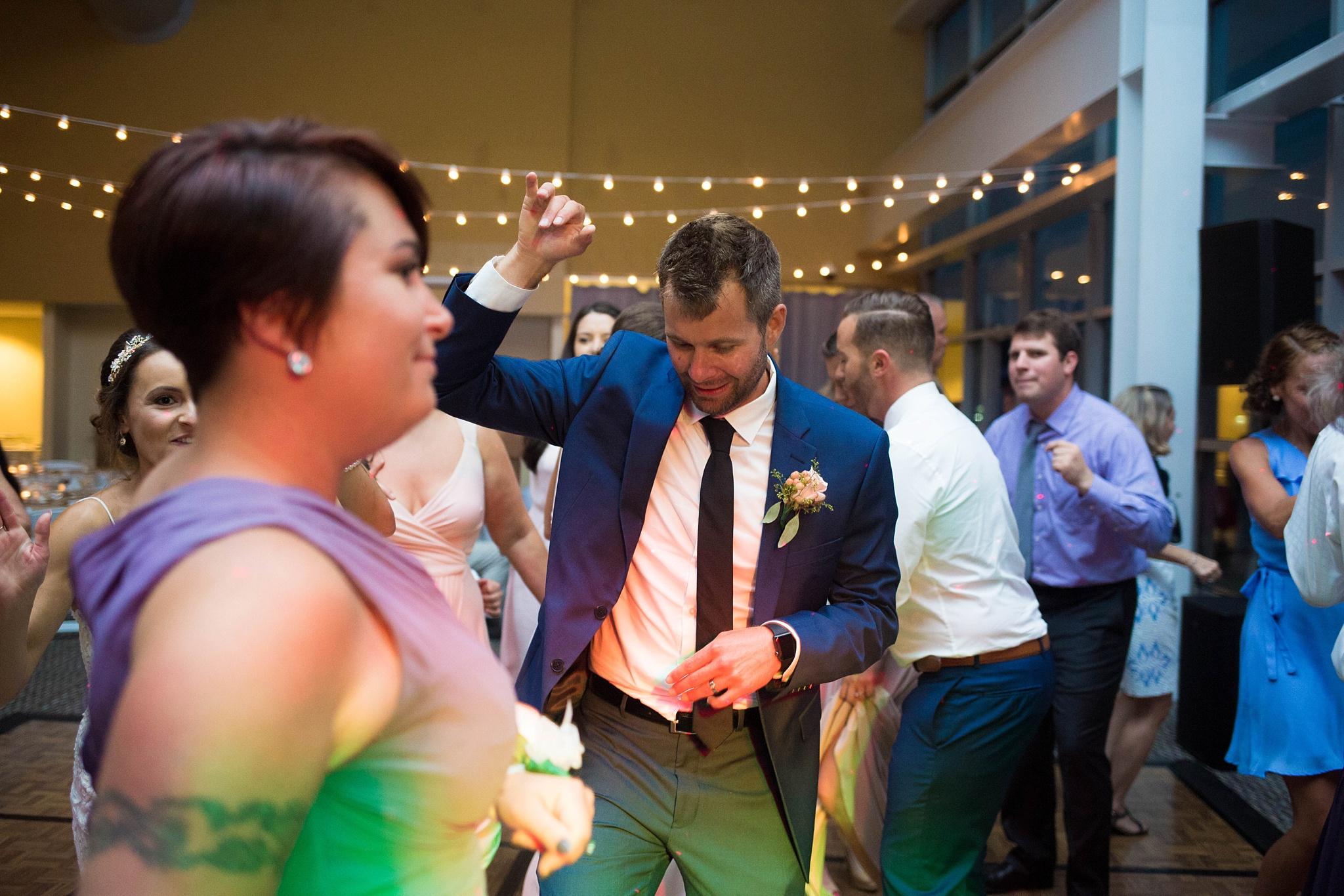 Portland wedding reception