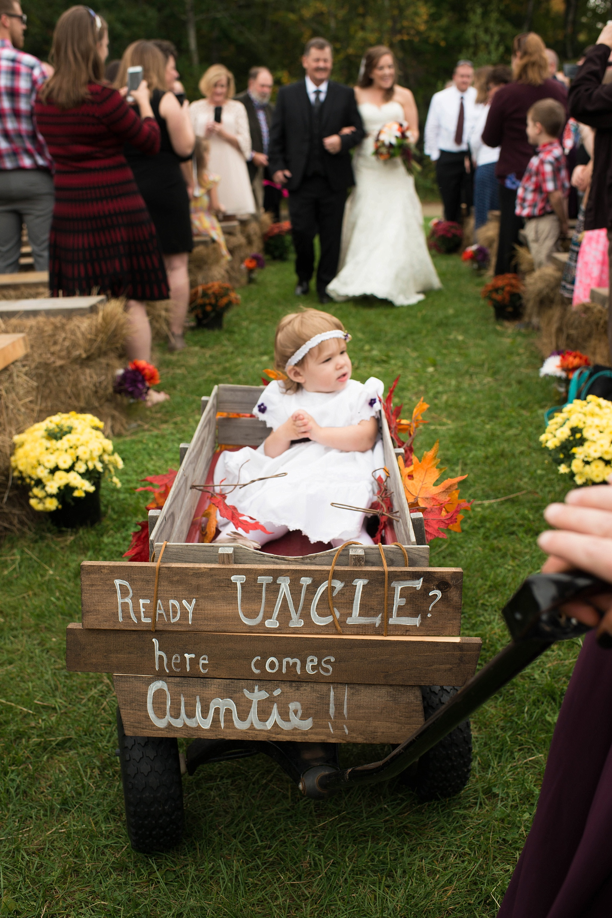 flower girl wagon